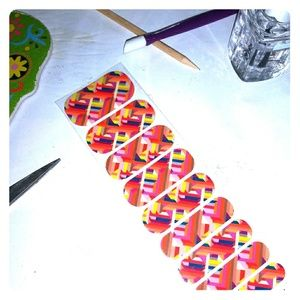 Jamberry nail wraps Double-crossed